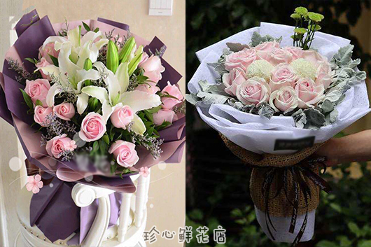 送给产妇的花-粉玫瑰令产妇心情愉悦