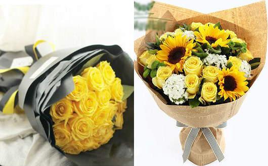 情人节表白送什么花-不要送黄玫瑰