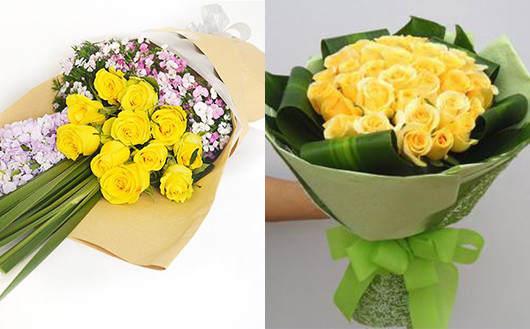 妻子生日送花-建议不要送黄玫瑰