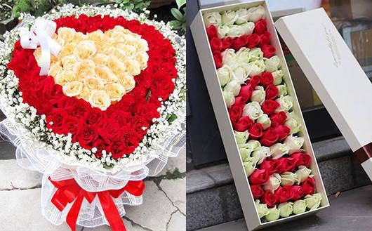 订花网哪个好-从出品的鲜花产品判断订花网品质