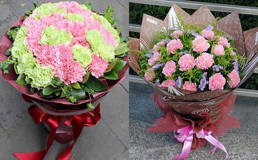 给老人祝寿送什么鲜花-送康乃馨鲜花代表祝福