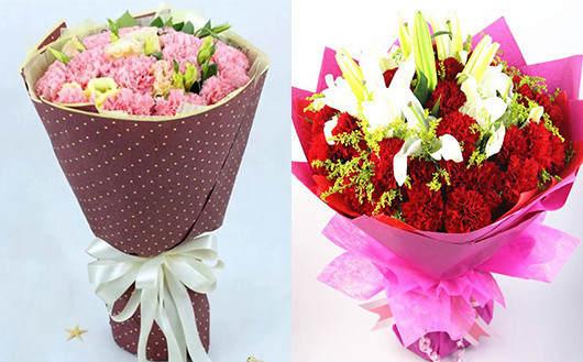 送给产妇的花-康乃馨带有对产妇的祝福