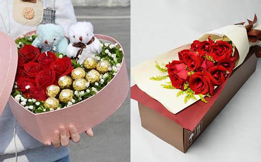 怎样给异地的朋友订花-花店包送上门