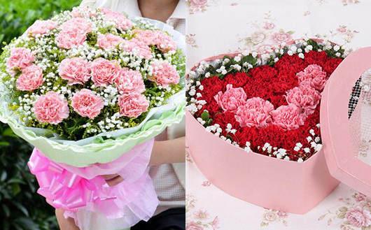 父亲节鲜花花束-送父亲康乃馨鲜花