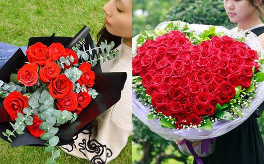 情人节送花什么时候送-送红玫瑰