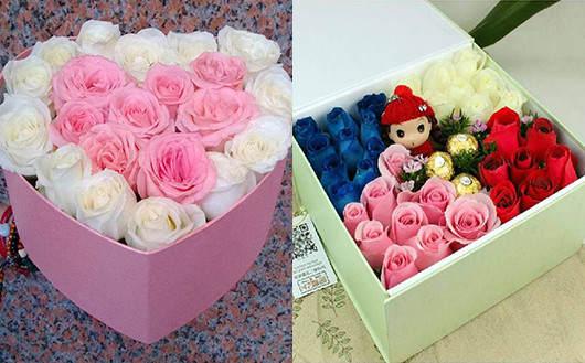 附近最近的花店在哪里玫瑰花礼盒