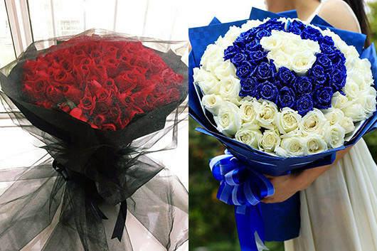 求婚多少支玫瑰-66朵玫瑰礼品