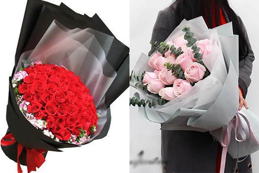 异地送花哪个网站好-花店玫瑰花款式