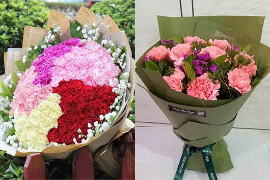 鲜花同城速递康乃馨