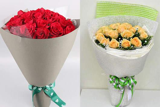 情人节送男生什么花-表白用的玫瑰花