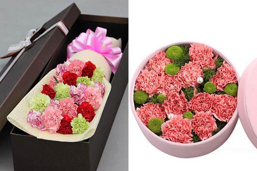 看望产妇送什么礼品-康乃馨鲜花花束