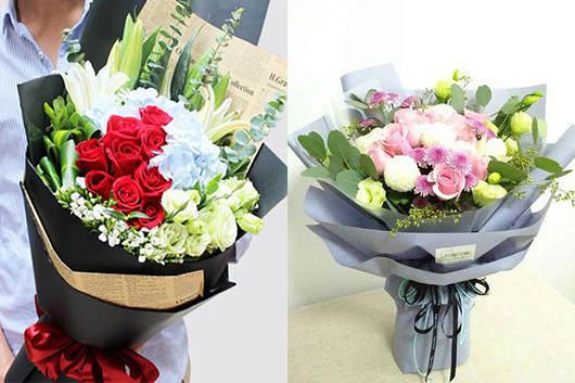 同城订花送花混搭鲜花款式