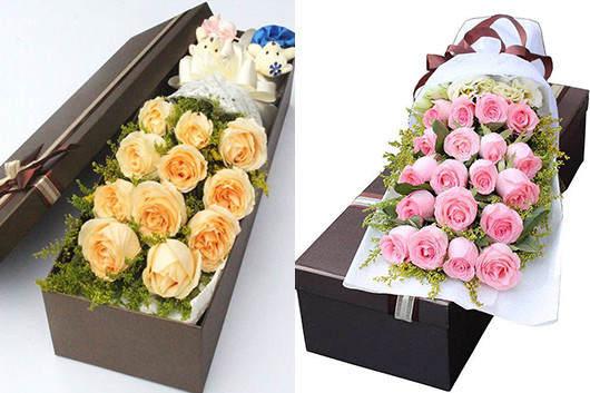求爱用什么花-也可以送鲜花礼盒求爱