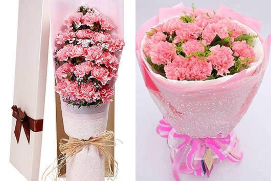婆婆过生日送什么花好-送康乃馨是蕞流行的款式