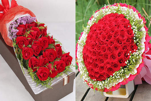 这附近哪里有花店-红玫瑰礼品