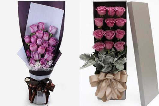 紫玫瑰品牌花店