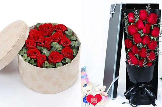 异地怎么订花-红玫瑰礼品预订
