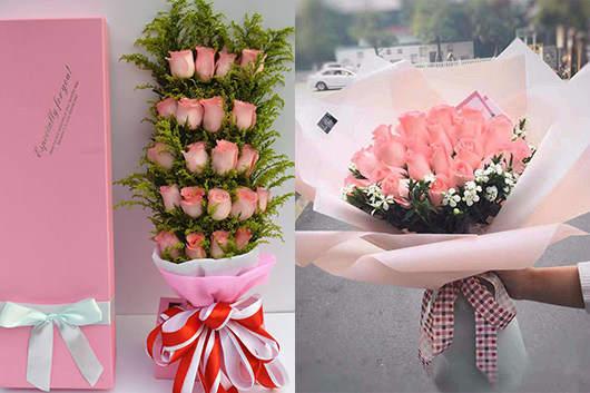 同城快递鲜花-玫瑰花送货上门