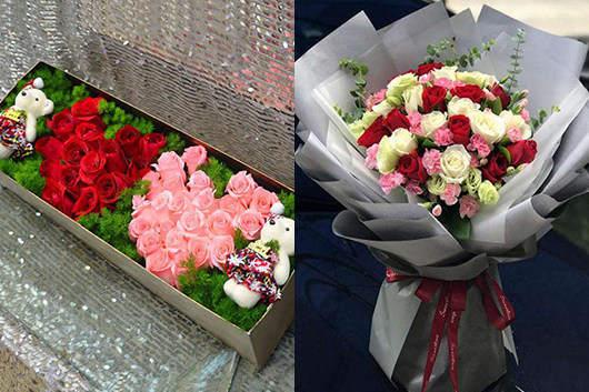 附近最近花店玫瑰花礼品