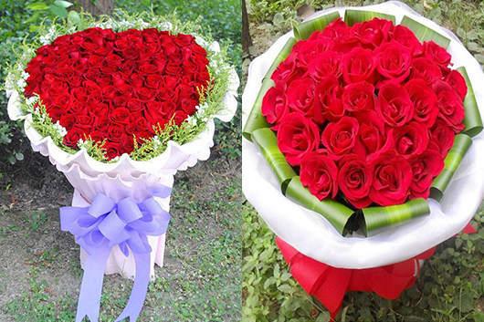 代表爱情的专属订婚花束