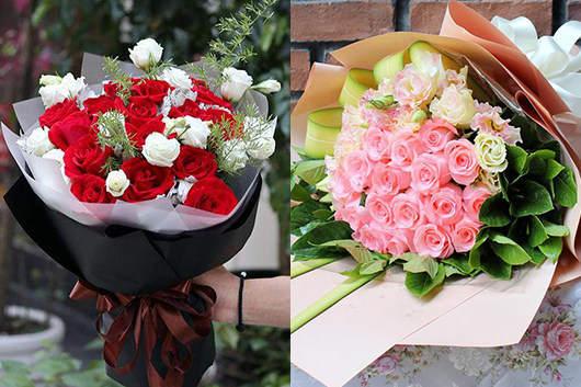 情人节可以送百合花吗-可以,除了送百合花还可送玫瑰