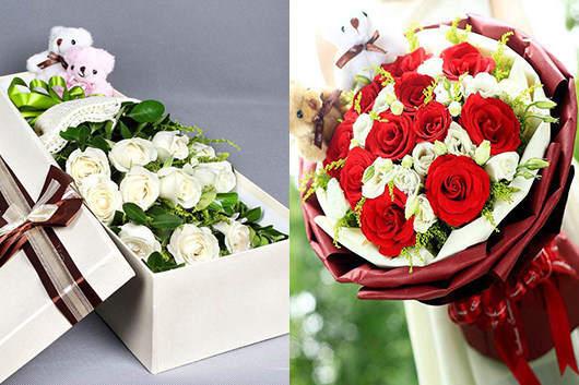 附近鲜花速递玫瑰礼品