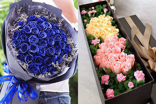 同城配送鲜花-玫瑰系列