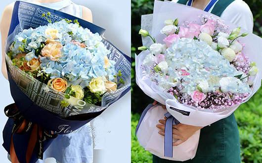 适合孕妇的鲜花搭配好看的花束