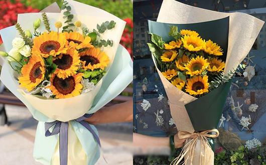 送孕妇什么礼物合适向日葵鲜花花束