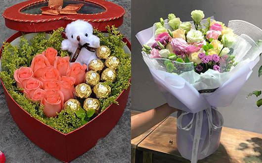 附近鲜花配送店玫瑰作品