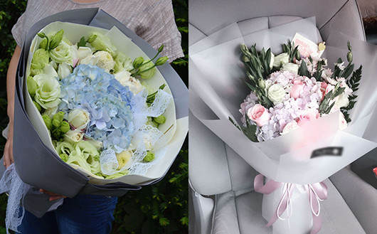 看产妇买什么花-绣球花