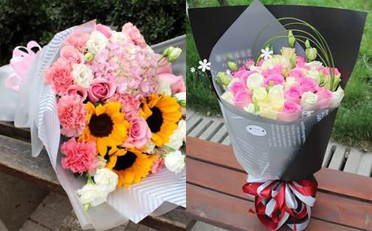 孕妇送花送康乃馨给孕妇