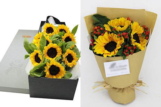 情人节送男生什么花-向日葵