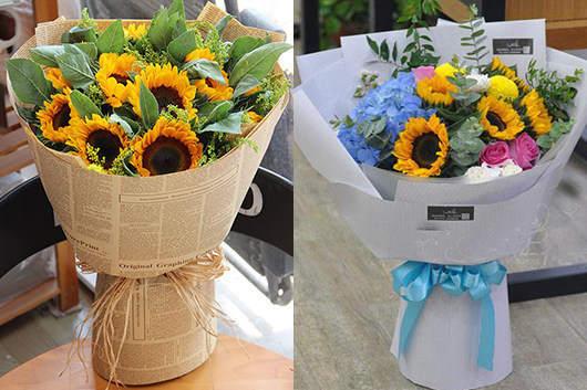 送孕妇什么花合适-送她向日葵让她开心