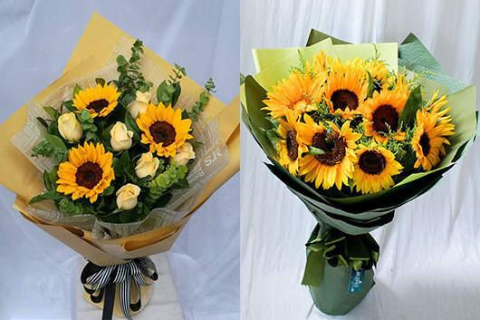 朋友生日送什么鲜花-向日葵象征阳光的友情