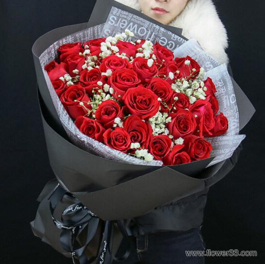 今生热恋 - 玫瑰鲜花配送