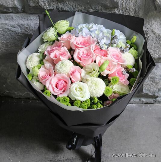 清新自然 - 精美花束鲜花快递