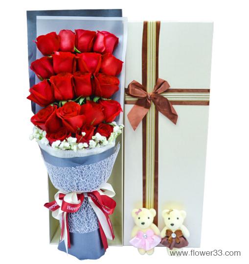 最爱是你 - 玫瑰花盒装