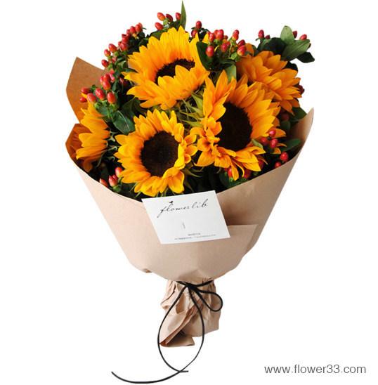 相知 - 向日葵鲜花花束