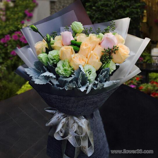 幸福港湾 - 玫瑰花束订购