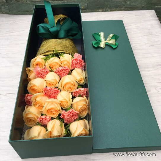 美好的回忆 - 礼盒鲜花速递