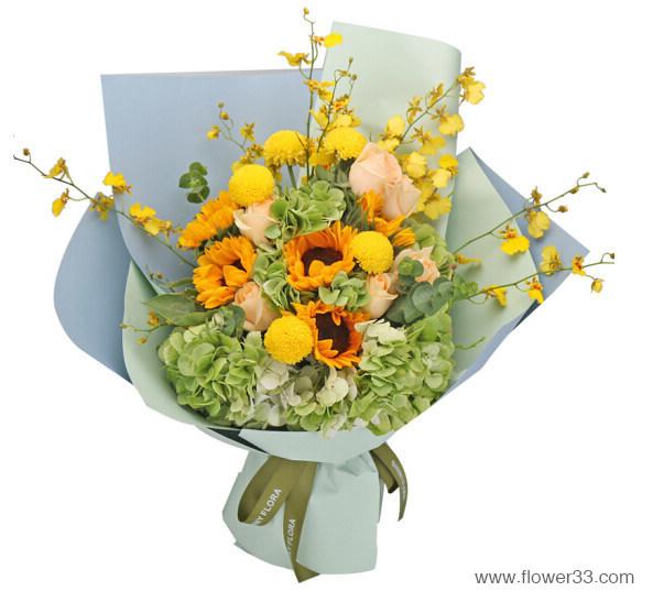 欢庆时刻 - 网红韩式花束