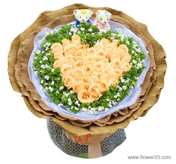 心里只有你 - 幸福恋人鲜花