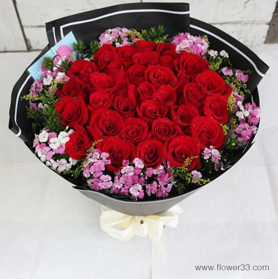一辈子的幸福 - 网上订玫瑰花