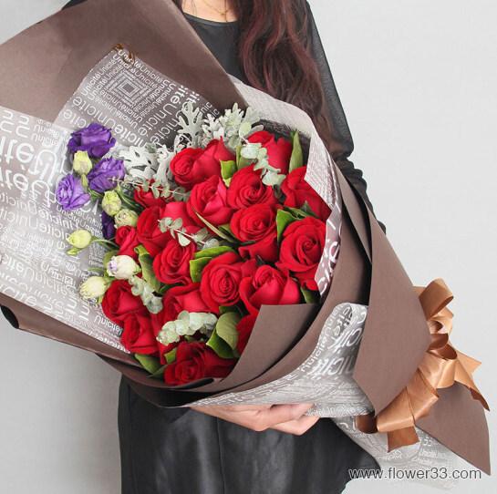 浪漫午后 - 红玫瑰鲜花店