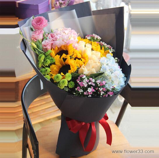 一切的美好 - 高端韩式花束