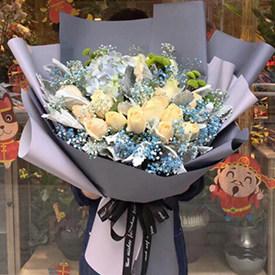 秋风惬意 - 鲜花礼品店