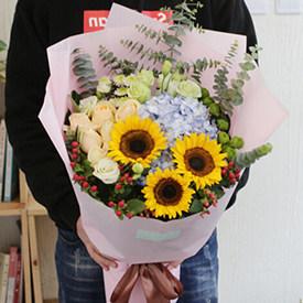 心情灿烂 - 好看的鲜花花束