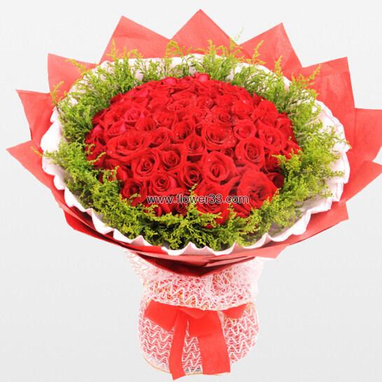 花前月下 - 33朵红玫瑰