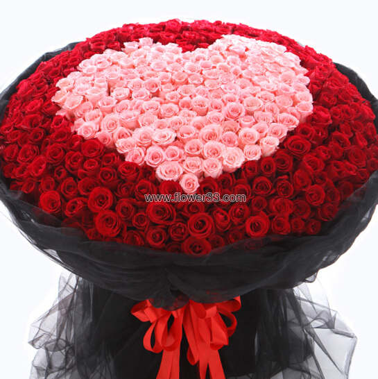 遇见另一半 - 999朵玫瑰花花束